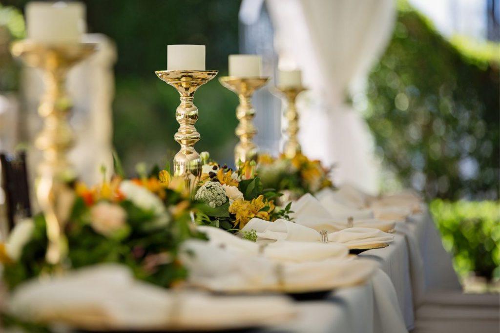 photo of a hotel wedding venue